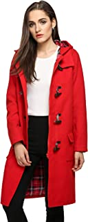 Best womens red toggle coat Reviews