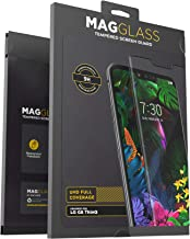 Magglass LG G8 ThinQ Tempered Glass Screen Protector (Scratch Resistant) Ultra Clear Display Guard (Case Friendly)
