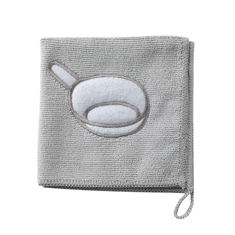 宙返りベストインゲンUPKOCH クリーニングクロス食器洗い乾燥機タオルキッチン吸収乾燥干し乾燥家庭用(グレー)