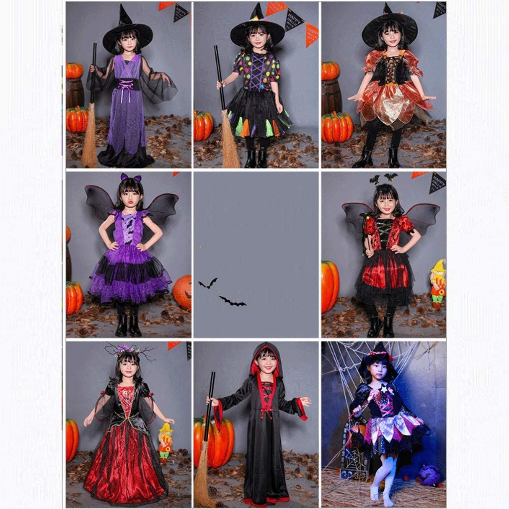 Halloween Child Costume, Little Girl Princess Dress, verkleedkleren, Cosplay Halloween Dress, leuk en speels (Color : L style B) L style B