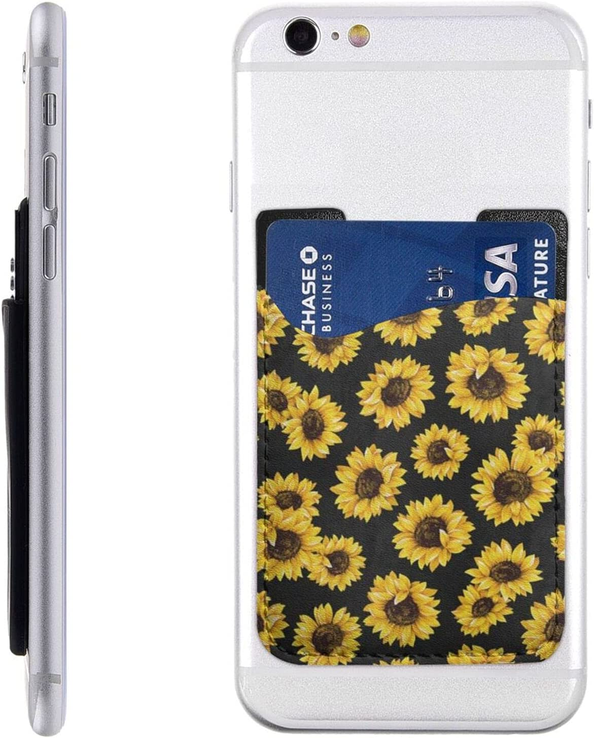 Golden Sunflowers Phone Card Holder Stick On Wal Brand Cheap Sale Venue Trust Cell