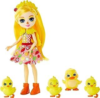 Enchantimals- Muñeca Dinah Duck con su mascota el pato