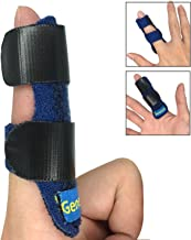Trigger Finger Splint, Built-in Aluminium Support Trigger,Mallet Finger Brace Relieve Pain, Adjustable Velcro