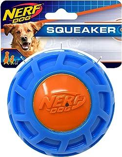 4in TPR EXO Squeak Ball - Blue/Orange