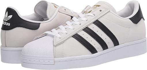 Footwear White/Core Black/Gold Metallic 2