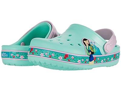 Crocs Kids Fun Lab Disney Mulantm Clog (Toddler/Little Kid) (New Mint) Girl