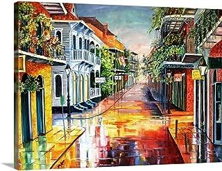 Summer Day on Royal Street Canvas Wall Art Print, 40
