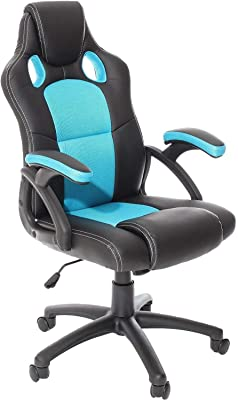 TecTake Silla de escritorio de oficina, Racing - disponible ...