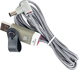 myVolts Ripcord - USB to 9V DC Power Cable Compatible with The 3 Leaf Audio Chromatron, Doom, Proton, Octabvre Mini Effects Pedal