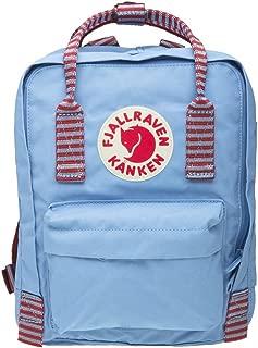 Fjallraven Kanken Mini Backpack, Air Blue-striped