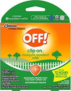 OFF! Clip On Refills, 2 CT (Pack - 3)