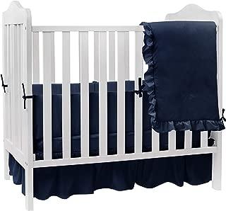 solid color crib bedding sets