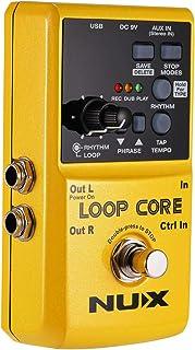 Asmuse Looper Pedal de Efectos para Guitarra Eléctrica para Práctica en Casa, Jamming, Ensayo en Estudio, Actuación en Vivo