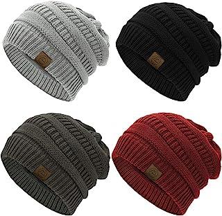 قبعة حريمي من Durio Beanie مناسبة للتدفئة للشتاء قبعات سميكة للنساء قبعة صغيرة دافئة هدايا للنساء