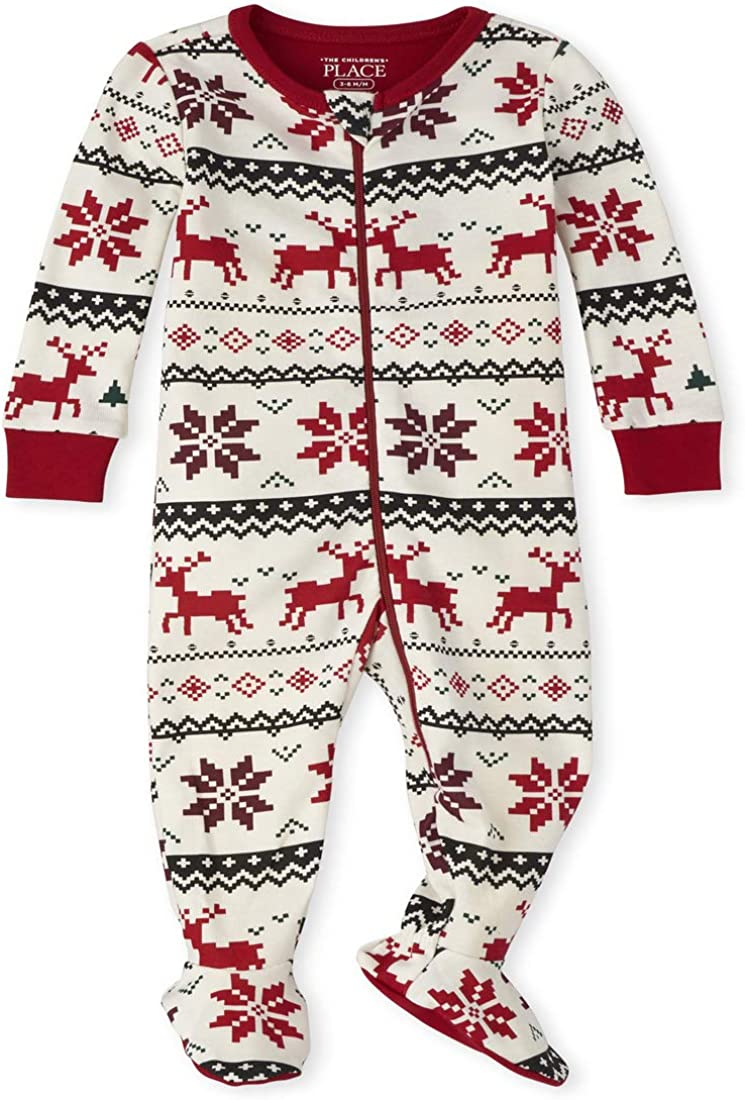The Children's Place Baby Christmas Stretchie