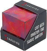 SHASHIBO - The Shape Shifting Box (36 Rare Earth Magnets) STEM/STEAM Fidget Geometric 3D Magnetic Transforming Magnetic Box Magic Cube Optical Illusion