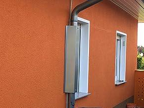 Metalltechnik Dermbach GmbH Waschb/ärschutz verzinkt Waschb/ärabwehr f/ür Fallrohre mit /Ø 100mm und Rohrabstand 2,5 bis 4 cm zur Hauswand