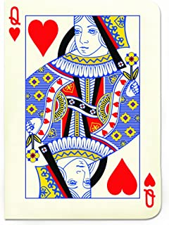 Gift Republic Playing Cards Queen A6 Notebook