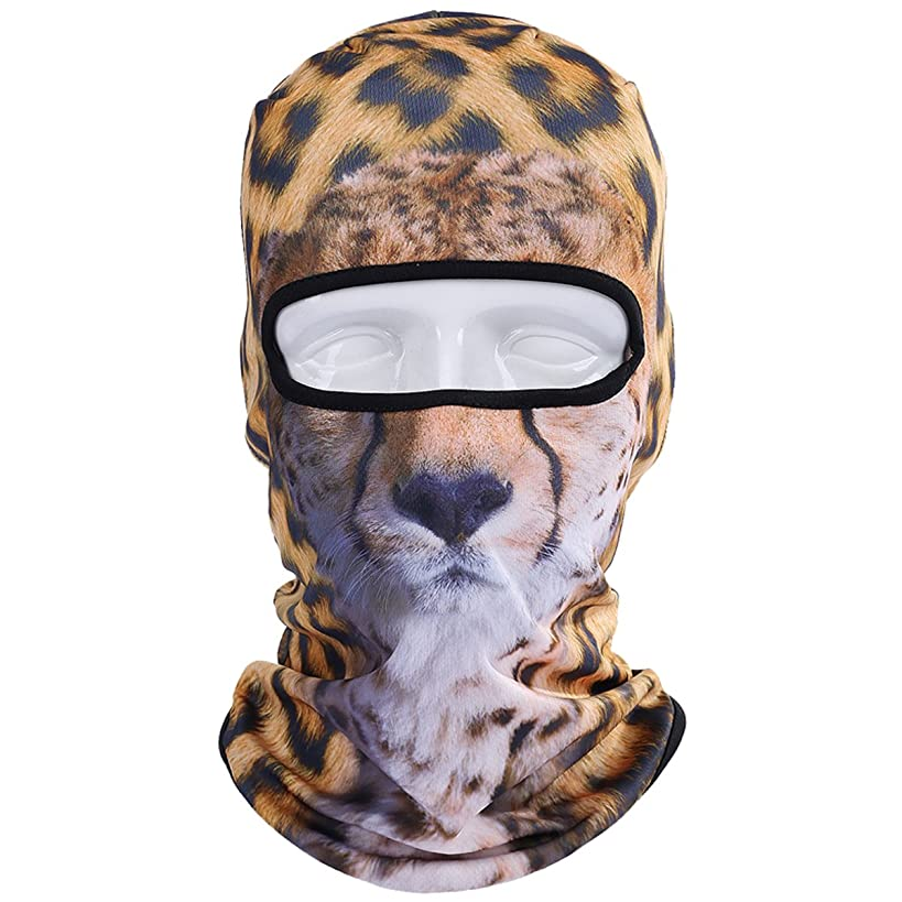 WTACTFUL 3D Animal Funny Balaclava Face Mask Cycling Motorcycle Skiing Snowboarding Music Festivals Halloween
