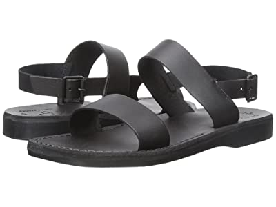 Jerusalem Sandals Golan Mens (Black) Men