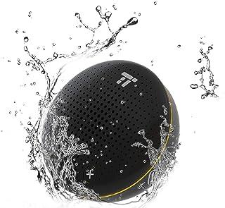 TaoTronics Bluetooth ワイヤレス スピーカー IPX7 防水 12+18ヶ月品質保証 高音質 大音量 技適認証&PSE認証取得 ハンズフリー対応・iPhone・スマートフォン対応 車載/パーティー/お風呂場用 (6W)