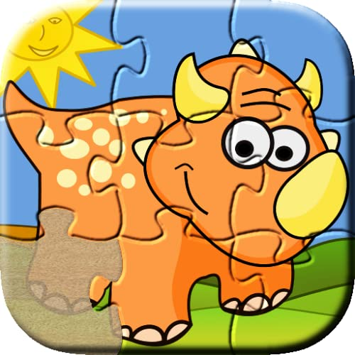 Dino Puzzle Free: Kids    Jigsaw puzzles for toddler, boys and girls    Preschool Learning