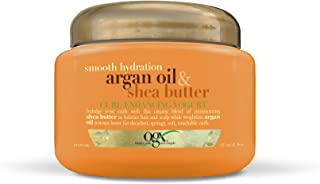 OGX Curl Enhancing Yogurt, Smooth Hydration Argan Oil & Shea Butter, 8oz