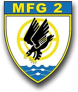 Aufkleber/Sticker MFG 2 Marinefliegergeschwader Marine Wappen Emblem 6x7cm A864