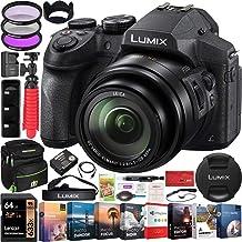 $417 » Panasonic Lumix FZ300 4K Point and Shoot Digital Camera with 24x Leica DC Vario-Elmarit 25-600mm Lens DMC-FZ300K Bundle with Deco Gear Bag Case + Filter Kit + Photo Video Software & Accessories