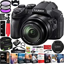 $397 » Panasonic Lumix FZ300 4K Point and Shoot Digital Camera with 24x Leica DC Vario-Elmarit 25-600mm Lens DMC-FZ300K Bundle with Deco Gear Bag Case + Filter Kit + Photo Video Software & Accessories