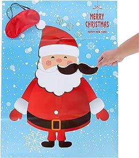 pin the tail on santa