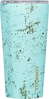 Corkcicle Tumbler - Classic Collection - Triple Insulated Stainless Steel Travel Mug, Bali Blue, 16oz
