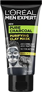 L'Oréal Paris Men Expert Pure Charcoal Purifying Clay Mask 50ml