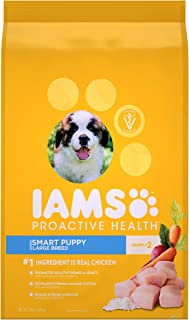 PACK OF 2 - IAMS PROACTIVE HEALTH Smart Puppy Large Breed Dry Puppy Food 15 Pounds