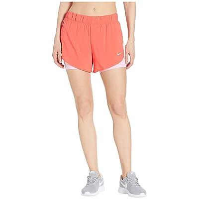 Nike Flex 2-in-1 Woven Shorts (Ember Glow/Pink Rise/White) Women