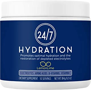 24/7 Hydration - Electrolyte Powder for Optimal Hydration: Calorie & Sugar Free, Keto, All Natural, Doctor-...