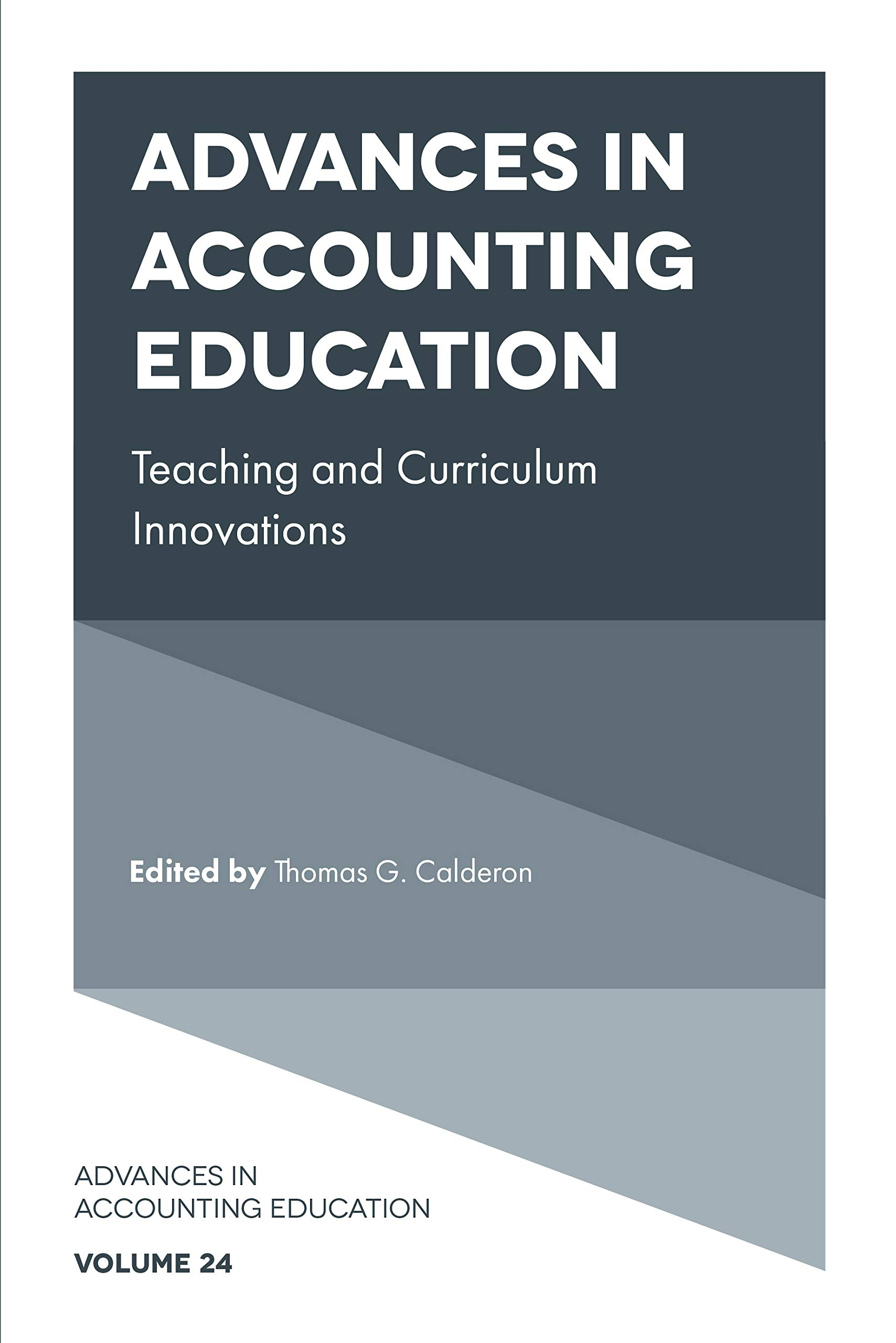 Advances in Accounting Education (Advances in Accounting Education: Teaching and Curriculum Innovations Book 24)