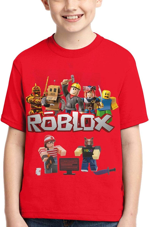 Boys Girls Short Sleeve Shirt Short Sleeve Tops Tee Game T Shirts for Unisex