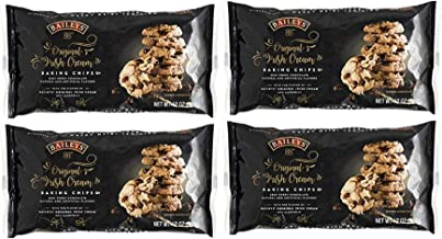 Baileys Original Irish Cream Semi-Sweet Chocolate Baking Chips, 12 Oz - Pack of 4