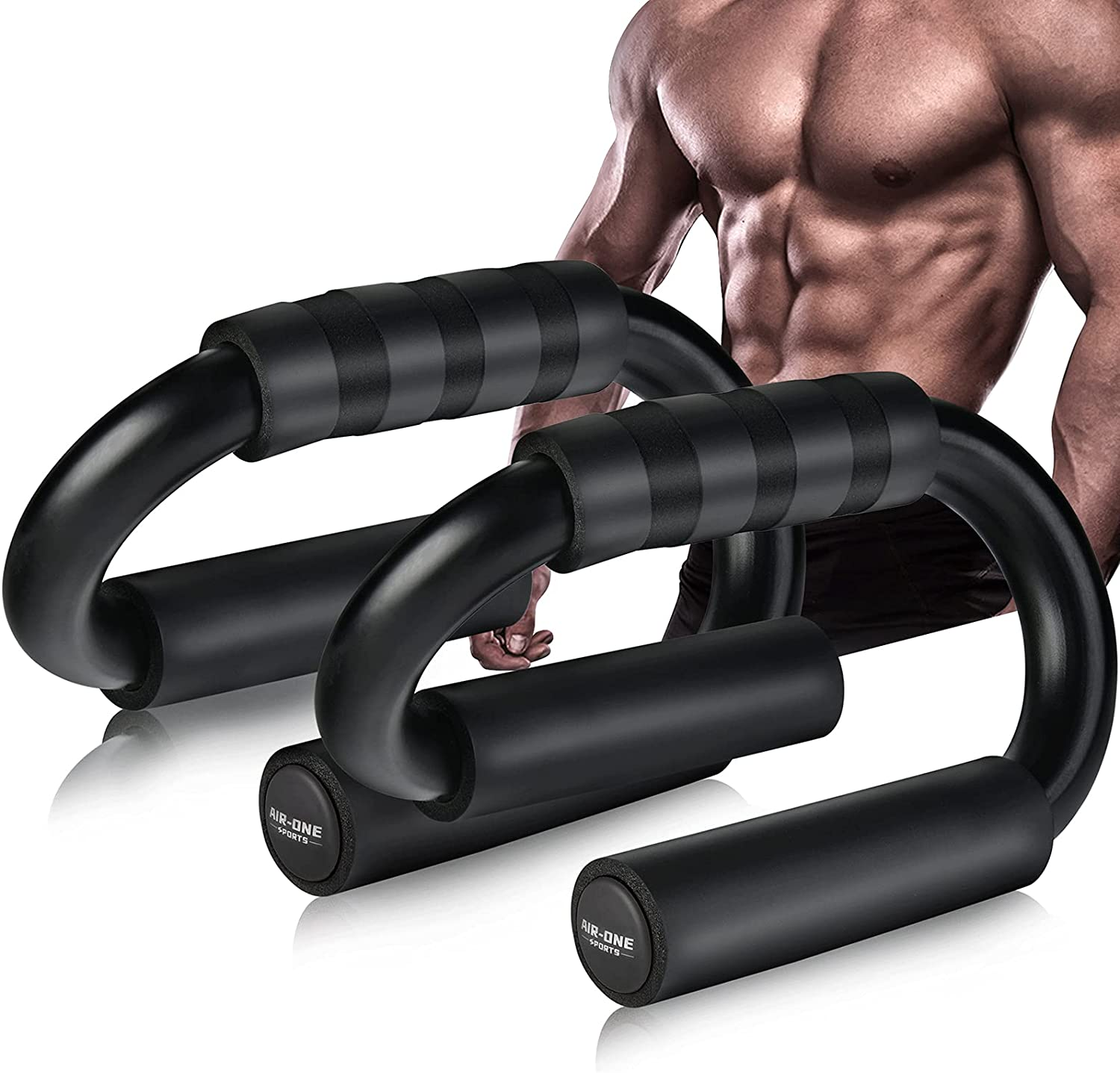 AIR-ONE SPORTS Push Up Bars with New Orleans Mall Extra T Jump Import Rope XL 600lb
