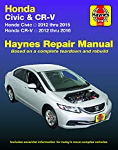 Honda Civic (12-15) & CR-V (12-16) Haynes Manual (Does not include information..