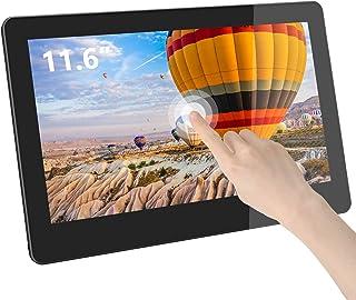 GeChic 11 inch Touchscreen Monitor 11.6 inch Touch Monitor 1102I Portable Monitor FHD IPS Dual HDMI/VGA Input USB Capaciti...