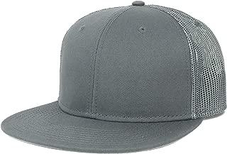 Armycrew Oversize XXL Blank Flatbill Mesh Snapback Cap