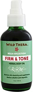 Wild Thera Herbal Skin Firm & Tone Organic Natural Anti Cellulite treatment to remove unwanted body fat, fatty deposits and tighten sagging flabby skin. Penetrate skin for weight loss and slim waist.