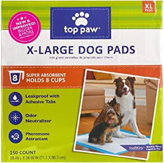 *Top Paw New and Improved X-Large Dog Pads