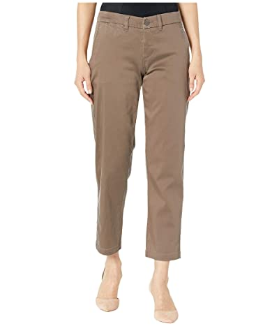 Liverpool Polly Cargo Crop in Peppercorn (Peppercorn) Women