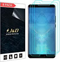 J&D Compatible for 8-Pack Mate 10 Screen Protector, [Not Full Coverage] Premium HD Clear Film Shield Screen Protector for Huawei Mate 10 Crystal Clear Screen Protector - [Not for Huawei Mate 10 Pro]