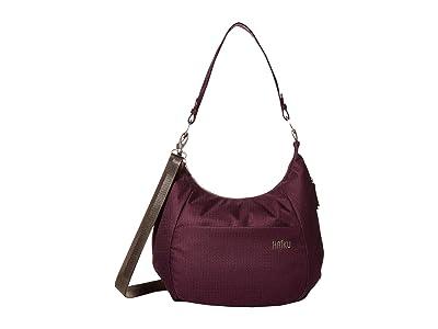 Haiku Amble (Blackberry) Handbags