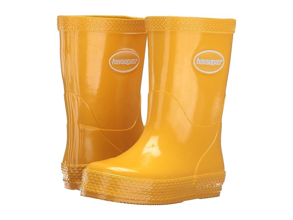Havaianas Kids Galochas (Toddler/Little Kid) (Yellow) Kids Shoes