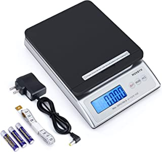 MUNBYN Digital Shipping Scale, 66lb Postal Scale with Hold and Tear Function Gram/Ounce/Pound Mail Postage Scale for Shipp...